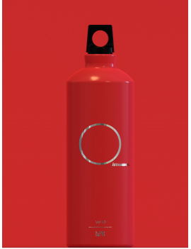 Aluminum Water Bottle Red 0,5ml